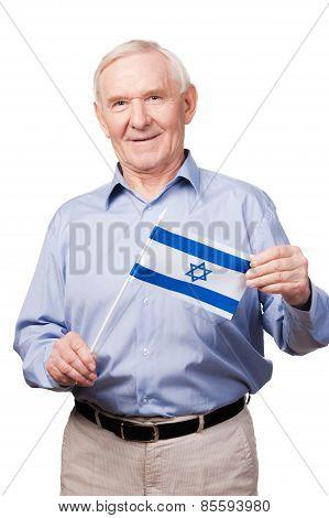 Israeli Senior Man.