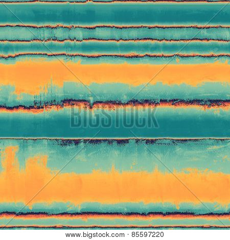 Old grunge template. With different color patterns: yellow (beige); blue; cyan