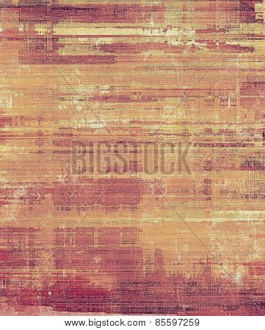 Grunge retro vintage texture, old background. With different color patterns: yellow (beige); brown; purple (violet)