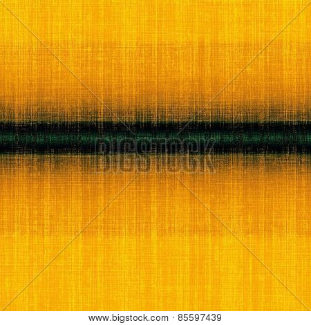 Old designed texture as abstract grunge background. With different color patterns: yellow (beige); green; black