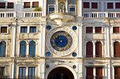 picture of piazza  - Zodiac clock - JPG