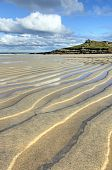 picture of st ives  - Porthmeor beach sand ripples St - JPG