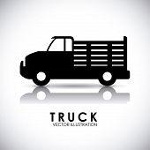image of truck farm  - truck icon design  - JPG