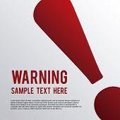 picture of hazard symbol  - alert symbol graphic design  - JPG