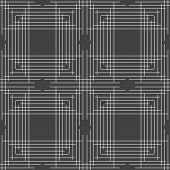 stock photo of intersection  - Seamless stylish geometric background - JPG