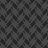 foto of chevron  - Seamless stylish geometric background - JPG