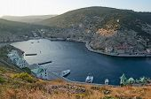picture of sevastopol  - General view of Balaklava from hight - JPG