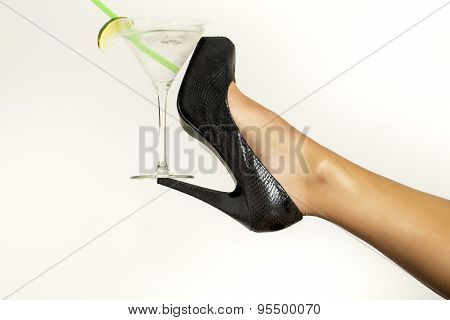 One  Leg And Cocktail