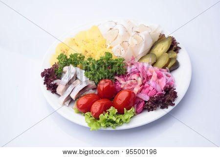 Delicious Variety Diner Platter