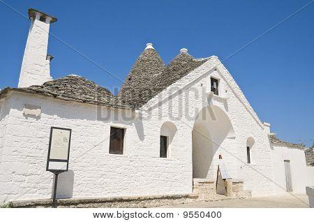 Sovereign Trullo. Alberobello. Apulia.