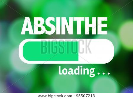 Progress Bar Loading with the text: Absinthe
