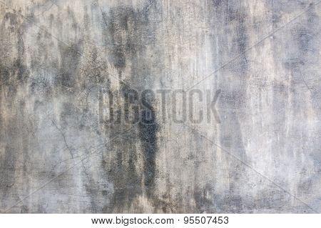 It Is Design On Cement With Shadow For Pattern And Background.