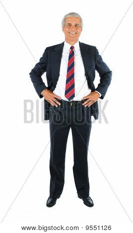 Businessman Hands On Hips