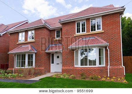 New Detached Brick Built House