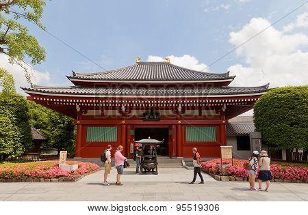 Yogodo Hall Of Senso-ji Temple, Tokyo, Japan
