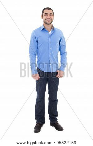 Handsome Arabic Man Isolated On White
