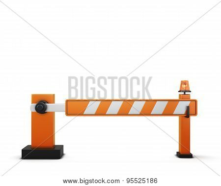 Closed Barrier
