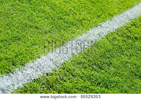 Chalk line sports field