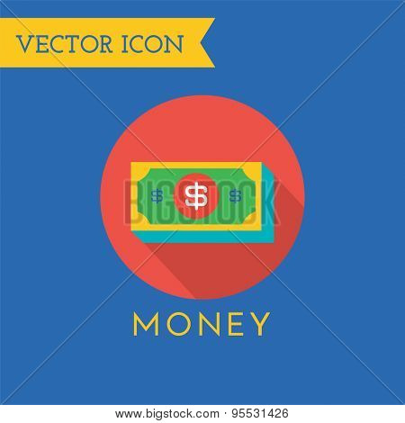 Money Icons Vector Set. Shop, money or commerce and mobile symbols. Stock design elements.
