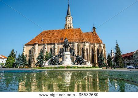 Michael's church in Cluj Napoca