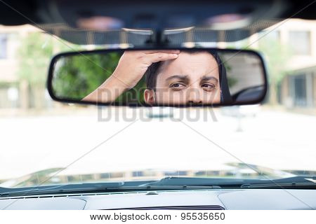 Staring Back At Rearview