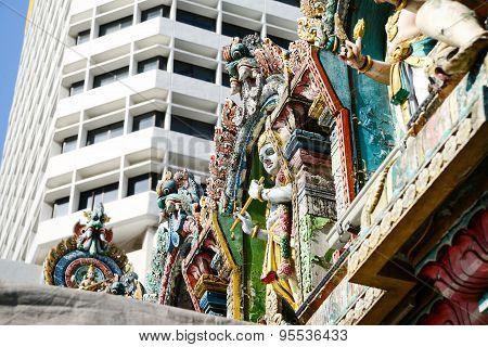 Temple In Republic Of Singapore