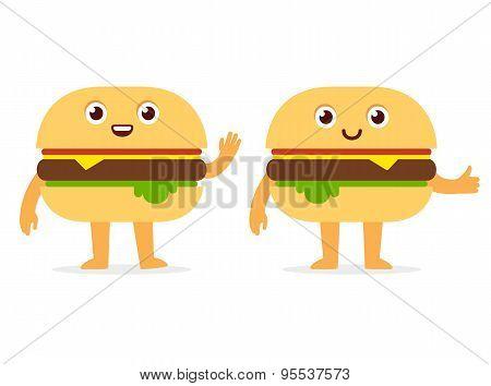 Burger Character
