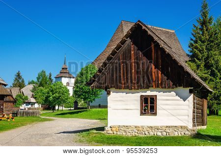 Open-air museum of Liptov in Slovakia