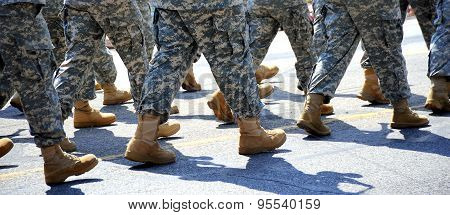 Boots on the ground.