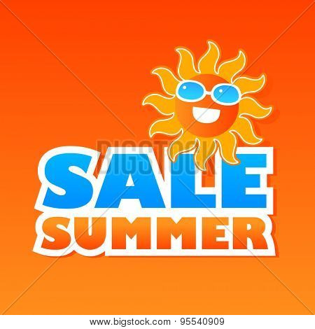 Summer Sale Icon - template for sale design