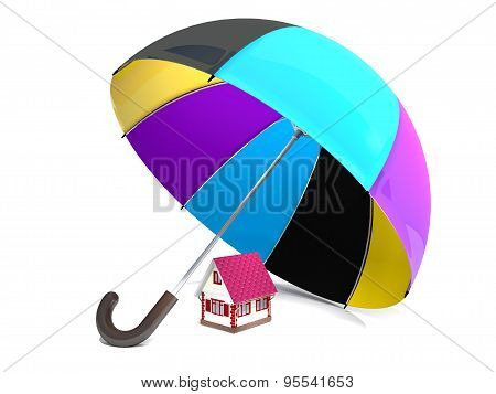 Home And Protective Umbrella.
