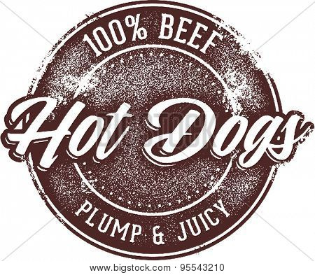 100% Beef Hot Dogs