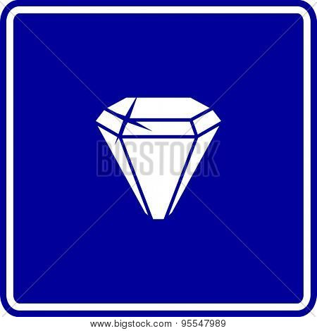 diamond sign
