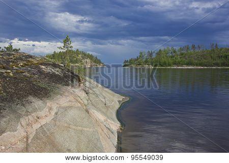 Lake Ladoga, Karelia, Russia