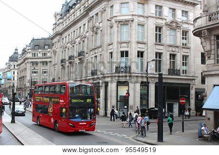 Busy London England Street