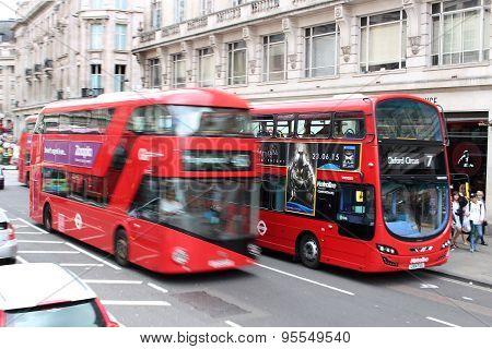 London Double Decker Buses