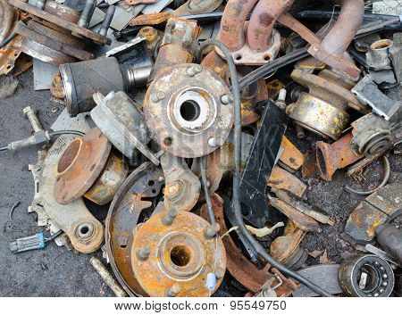 Useless, Worn Out Rusty Brake Discs