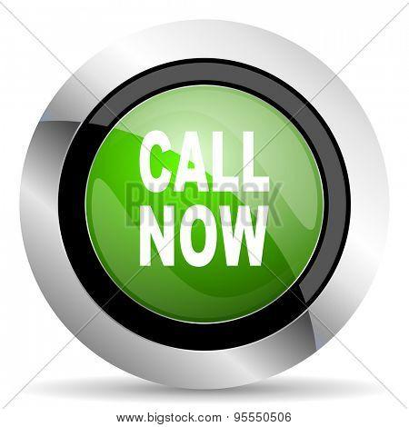 call now icon, green button