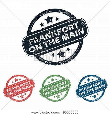 Frankfort on Main stamp set
