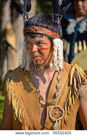 Native Indian Young man