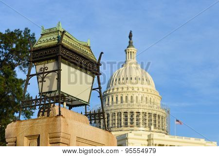 US Capitol Building in Washington DC, United States of America