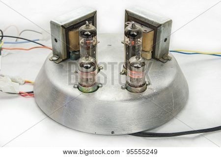 homemade tube amplifier single-ended