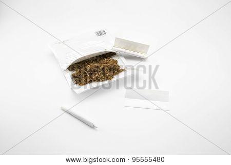 Ready To Make A Cigarette