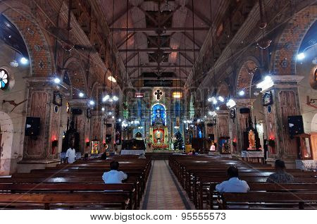 The Santa Cruz Cathedral Basilica At Fort Kochi