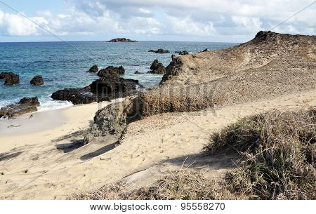 Sand Dune To Beach