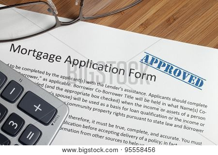 Residential Mortgage Application Form