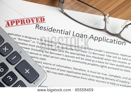 Residential Home Loan Application