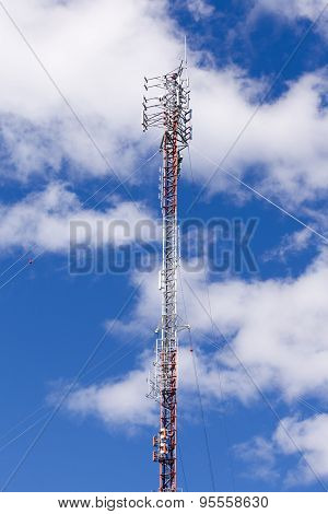 Communications Antenna Lattice Truss Tower