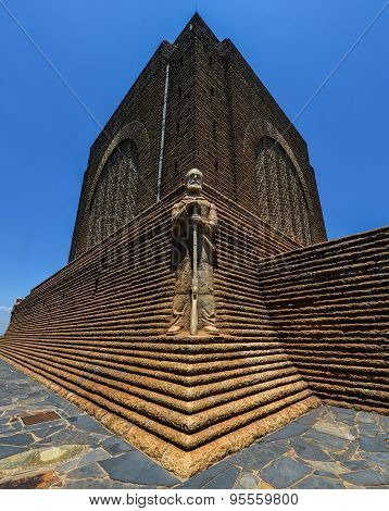 Monument To Piet Retief At Voortrekker Monument
