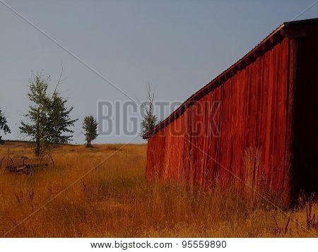 Red Barn - Bitterroot Valley, Montana